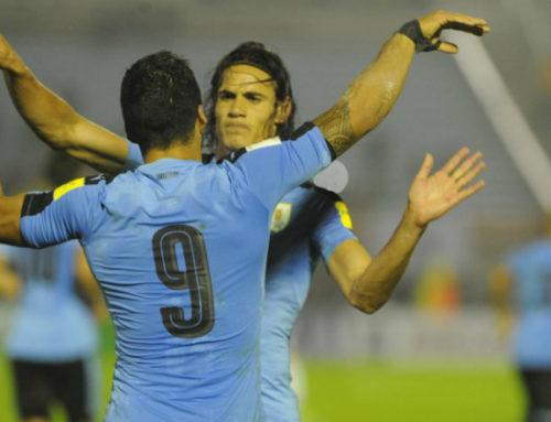 En China quieren ver a Suárez y Cavani juntos contra su selección