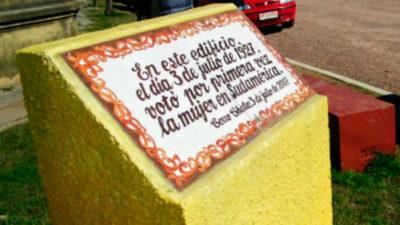 A 90 años del primer voto de la mujer en Sudamérica