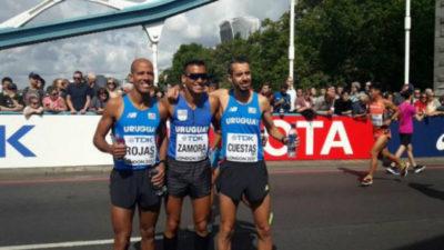 Andrés Zamora es el mejor latinoamericano en maratón del Mundial de Londres
