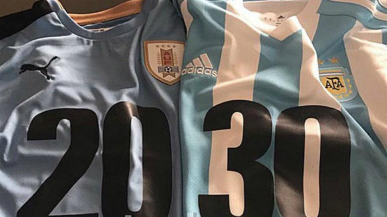 Suárez y Messi promocionarán el Mundial 2030