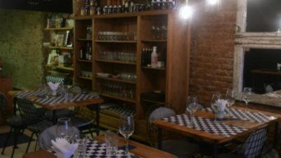Cocina de estación en la calle Sarandí
