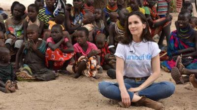 Natalia Oreiro y su conmovedora visita a Kenia
