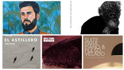 Los cinco nominados a Álbum del año en los 15º premios Graffiti