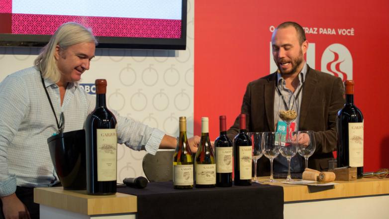 Bodega Garzón brilló en Río Gastronomía 2017