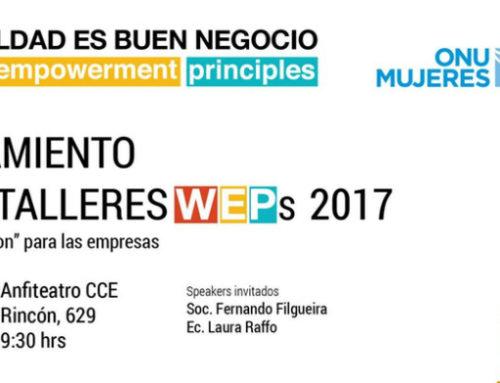 El rol de las mujeres en la economía, abre el debate en Ciclo de Talleres de ONU Mujeres Uruguay
