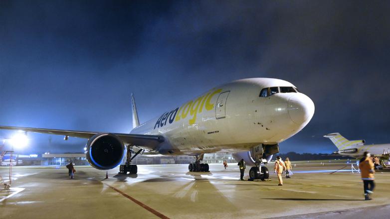 Nueva aeronave de Lufthansa cargo fortifica el tránsito de mercaderías con Europa y el mundo