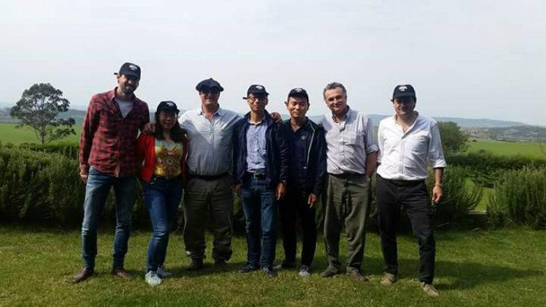 Grupos de empresarios chinos conocieron cadena cárnica de Uruguay