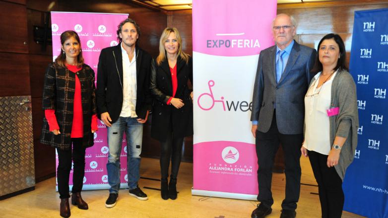 La oferta de productos y servicios para personas con discapacidad, se exhibe en la primera Expo Feria de la Fundación Alejandra Forlán