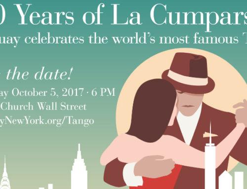 Los 100 años de La Cumparsita se celebran también en Nueva York