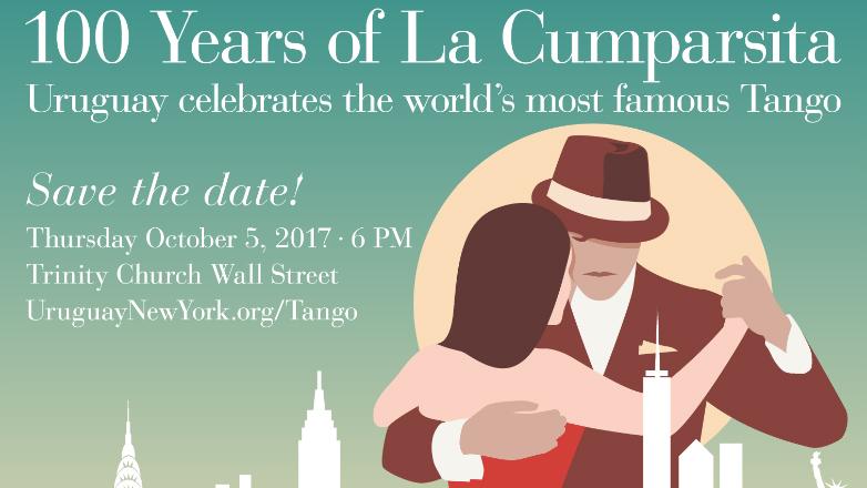 Los 100 años de La Cumparsita se celebran también Nueva York