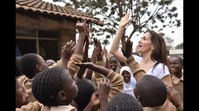 UNICEF compartió la visita de su embajadora Natalia Oreiro a Kenia