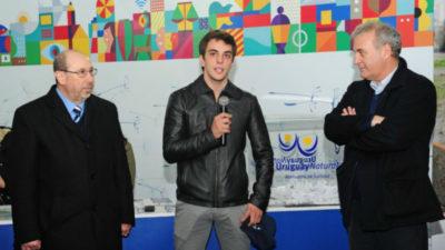 El ministerio de Turismo homenajeó a Santiago Urrutia