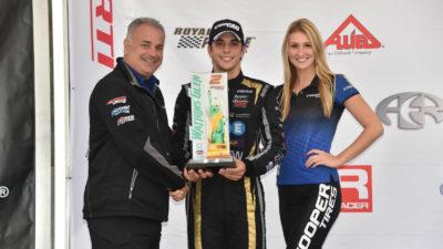 Indy Lights: Santi Urrutia finalizó vicecampeón