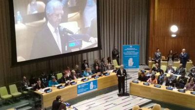 """Tabaré Vázquez en ONU: """"tolerancia cero"""" a abusos sexuales"""