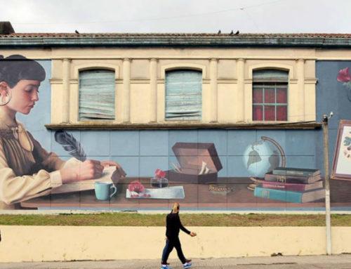 Murales al rescate de la historia local en el interior