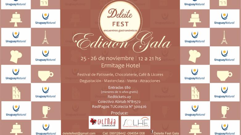 Se viene Deleite Fest Gala: un festival para dejarse tentar