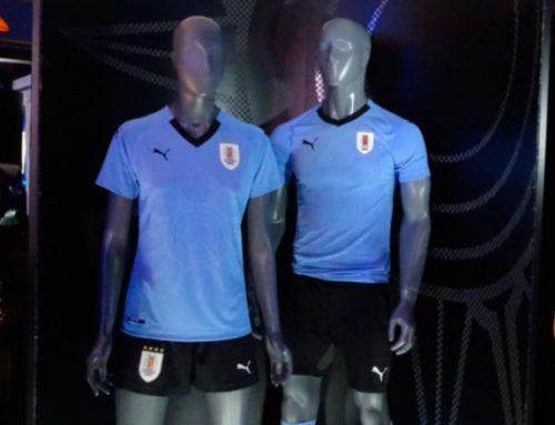 Esta es la camiseta con la que Uruguay jugará el Mundial Rusia 2018