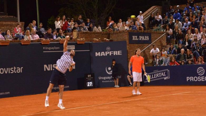 La noche que Forlán se volvió tenista