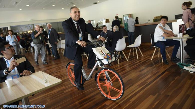 Mobike promueve bicicletas de uso compartido en América Latina