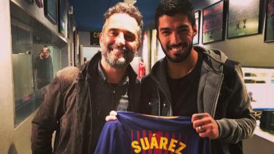 El encuentro de Jorge Drexler con Luis Suárez