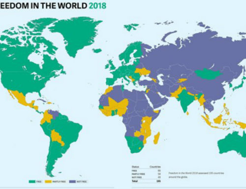 En reporte Libertad en el mundo 2018, de Freedom House, Uruguay aparece en noveno lugar y es el primer país latinoamericano