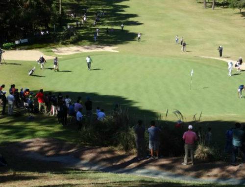 Centenares de golfistas llenan los prados de Punta del Este