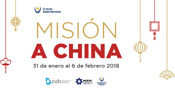 Misión a China de TIC uruguayas