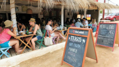 No solo de buñuelos vive la gastronomía en Punta del Diablo