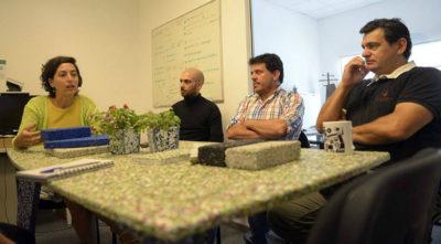 Con material reciclado de las Ceibalitas, estudiantes diseñaron muebles y otras soluciones para distintos espacios