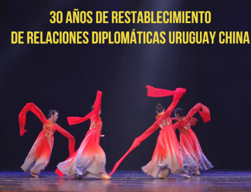 Espectáculo chino convocó a miles de uruguayos en Montevideo y Canelones