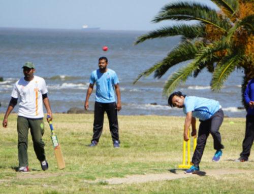 El cricket crea pasión en la rambla