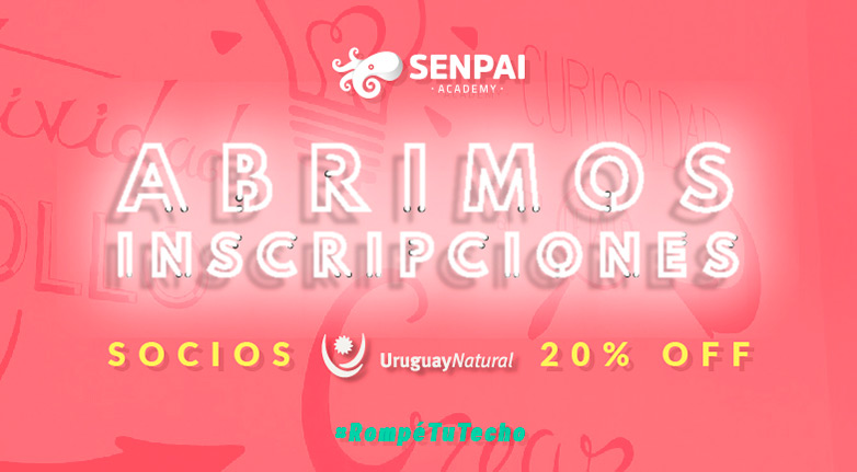 Senpai Academy ofrece un 20% de descuento en sus cursos, para empresas socias de marca país.