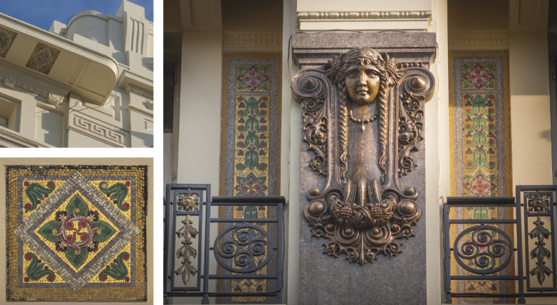 Mirar hacia arriba: los bellos edificios que esconde Montevideo