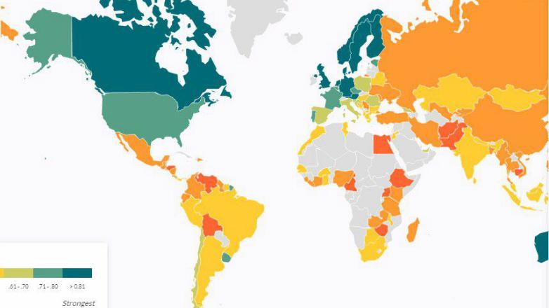 Uruguay, primero en Latinoamérica según índice global de Justicia y Estado de Derecho