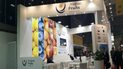 Cítricos y arándanos con la marca Uruguay Fruits están en Fruit Logística, la principal feria del rubro en Berlín