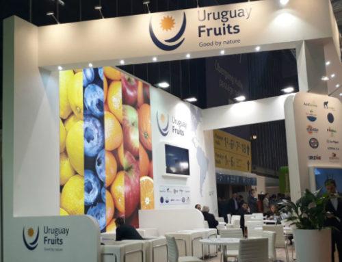 Cítricos y arándanos con la marca Uruguay Fruits están presentes en Fruit Logística, la principal feria del rubro en Berlín