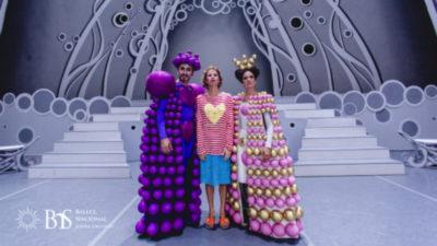 Hoy el BNS estrena La Bella Durmiente, con vestuario de Agatha Ruiz de la Prada