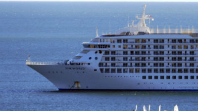 Crucero de millonarios cumplió su estadía más larga en Punta