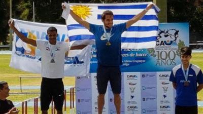 Emiliano Lasa se quedó con el oro en Montevideo