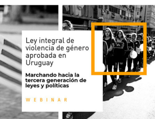 """""""Hoy en Uruguay la Ley integral para garantizar a las mujeres una vida libre de violencia de género es una realidad"""""""