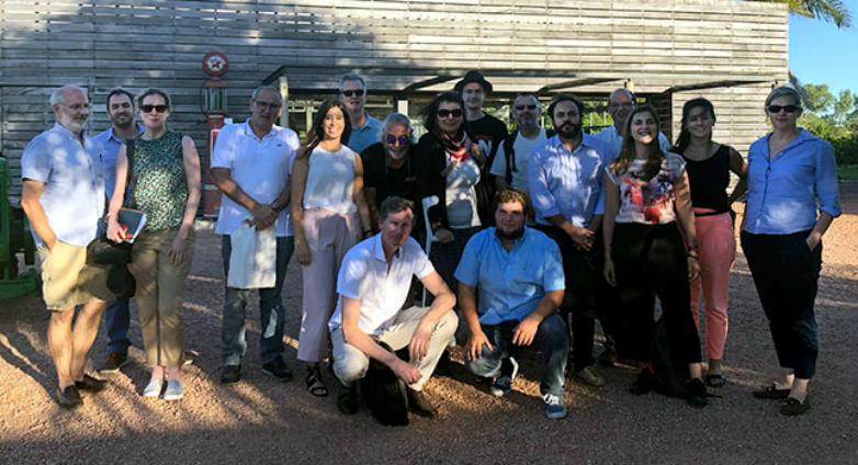 Nueve Masters of Wine visitaron Uruguay
