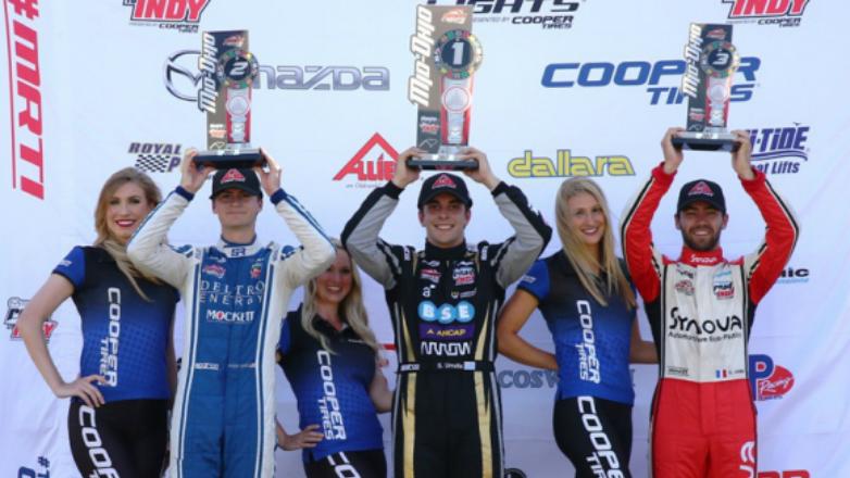 Urrutia ganó en la Indy Lights