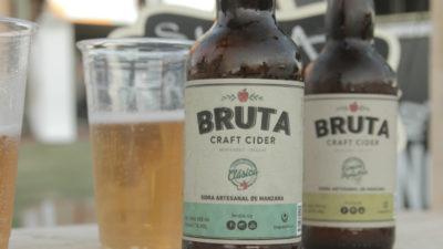Bruta, la primera sidra uruguaya, lidera una revolución dulce