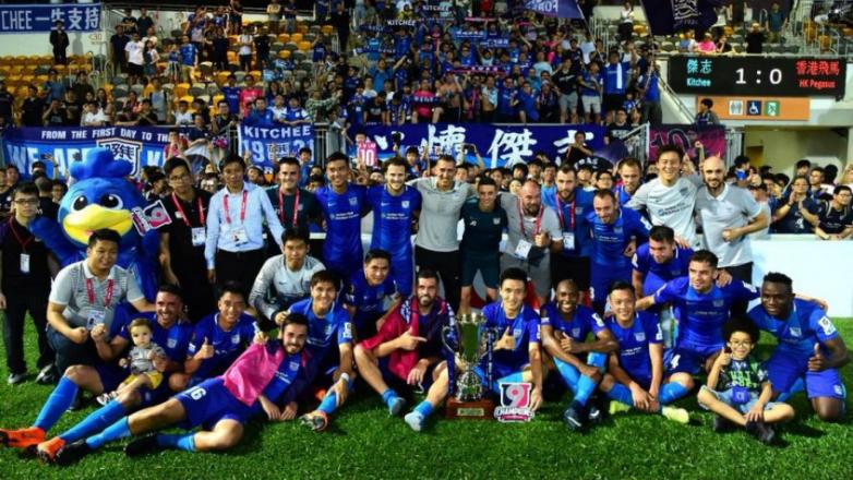 Forlán fue campeón en Hong Kong