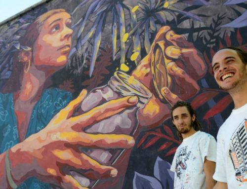 A través de su 2° Festival de arte urbano, el colectivo Casa Wang llenó de colores dos nuevos barrios montevideanos