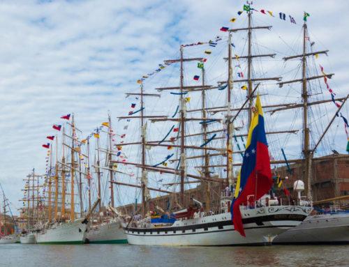 Velas Latinoamérica 2018: todo un fin de semana para visitar fragatas, bergantines y goletas en el Puerto de Montevideo