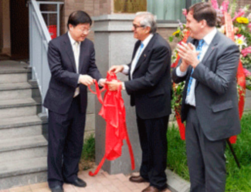 Embajada de Uruguay en China inauguró oficina agrícola para agilizar interacción con operadores locales