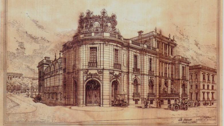 Una muestra para conocer los orígenes de Palacio Taranco