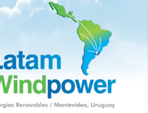 El IV Congreso Latinoamericano de Energía Eólica – Latam Wind Power, tendrá lugar en junio en Montevideo