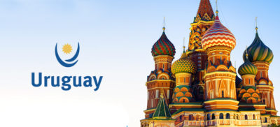 Uruguay lands in Rusia with promotional activities and highlighted products